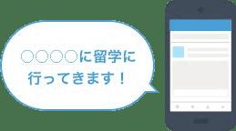 留学お申込み+SNSシェアで500円プレゼントのイメージ画像