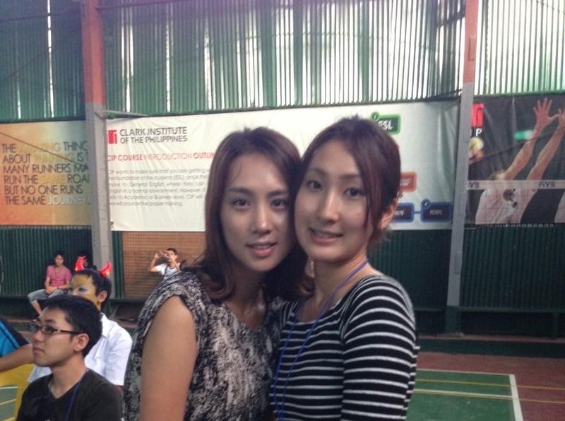 韓国人の女の子がルームメイト